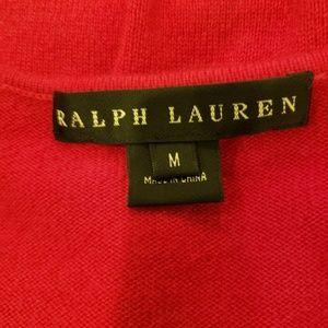 Ralph Lauren Sweaters - Ralph Lauren Black Label Red Cashmere Sweater